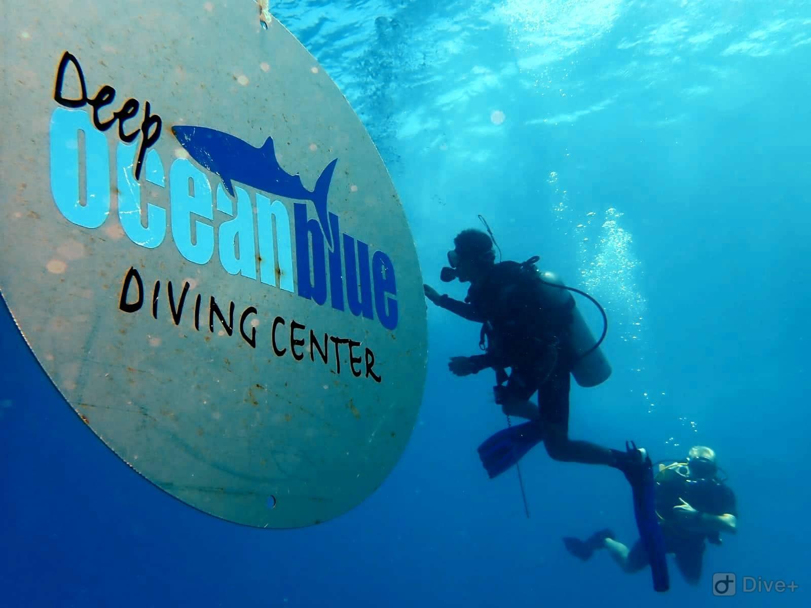 Deep ocean blue diving center - Dive deep blue ...