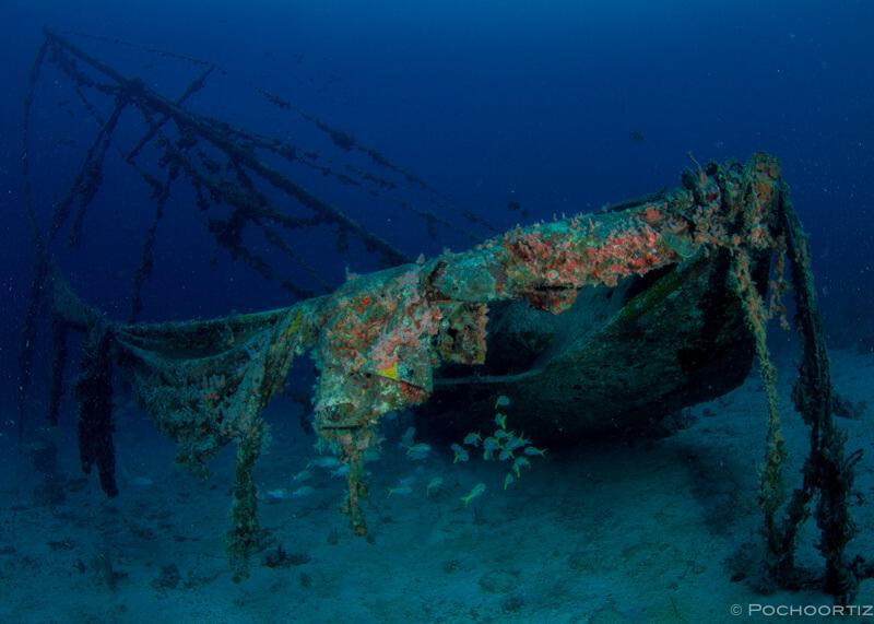 ship wreck scuba diving